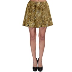 Melting Swirl E Skater Skirt