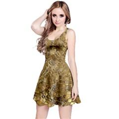 Melting Swirl E Reversible Sleeveless Dress