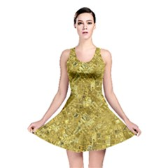 Melting Swirl F Reversible Skater Dress