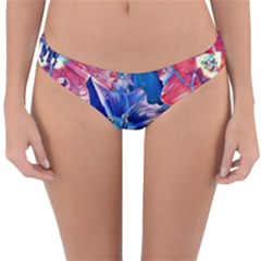 Wonderful Floral 22c Reversible Hipster Bikini Bottoms