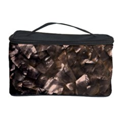 Glitter Rose Gold Shimmering Mother of Pearl Nacre Cosmetic Storage Case