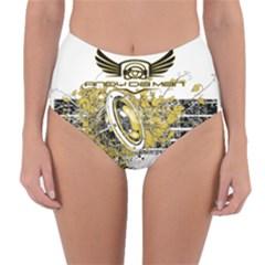 Andy Da Man Reversible High Waist Bikini Bottoms