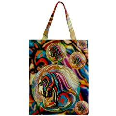 Abstract Horses Classic Tote Bag