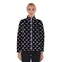 White Cherries On Black Winterwear