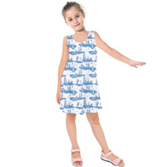 Tear In The Space Time Continuum Kids  Sleeveless Dress