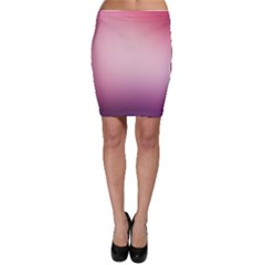 Background Blurry Template Pattern Bodycon Skirt