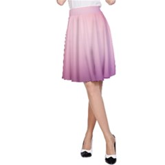 Background Blurry Template Pattern A Line Skirt