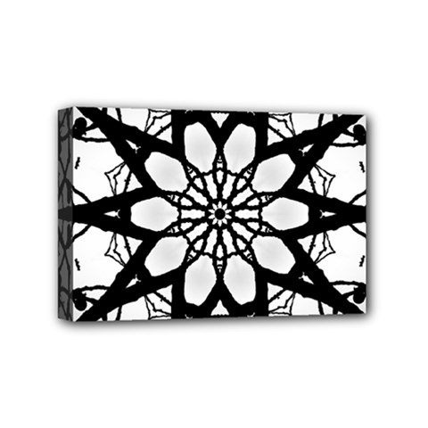 Pattern Abstract Fractal Mini Canvas 6  X 4