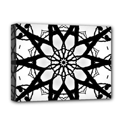 Pattern Abstract Fractal Deluxe Canvas 16  X 12