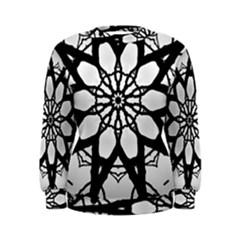 Pattern Abstract Fractal Women s Sweatshirt
