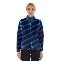 Background Light Glow Blue Winterwear