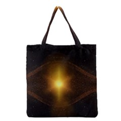 Background Christmas Star Advent Grocery Tote Bag