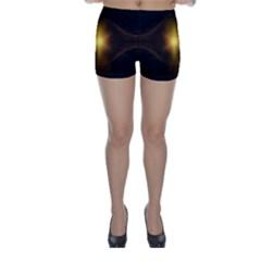 Background Christmas Star Advent Skinny Shorts