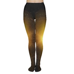 Background Christmas Star Advent Women s Tights