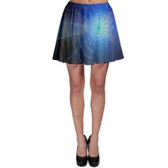 Network Cobweb Networking Bill Skater Skirt