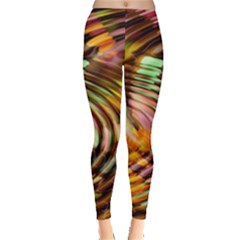 Wave Rings Circle Abstract Leggings