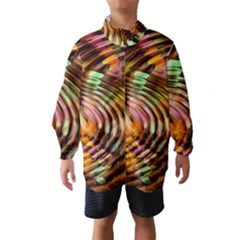 Wave Rings Circle Abstract Wind Breaker (kids)