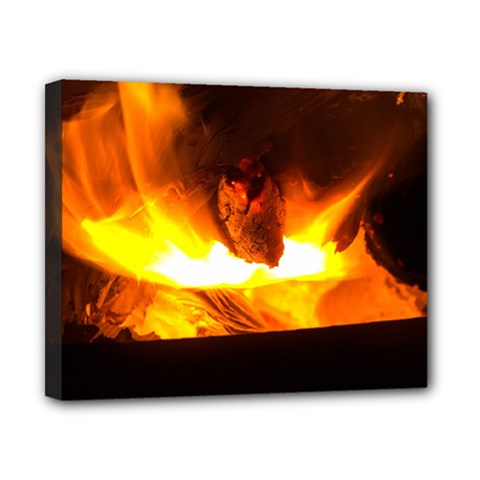 Fire Rays Mystical Burn Atmosphere Canvas 10  X 8