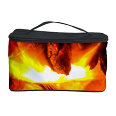 Fire Rays Mystical Burn Atmosphere Cosmetic Storage Case