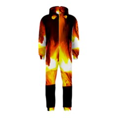 Fire Rays Mystical Burn Atmosphere Hooded Jumpsuit (kids)