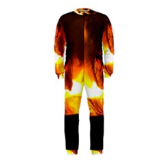 Fire Rays Mystical Burn Atmosphere Onepiece Jumpsuit (kids)