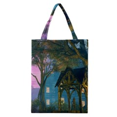 Background Forest Trees Nature Classic Tote Bag