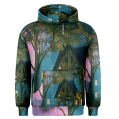 Background Forest Trees Nature Men s Pullover Hoodie