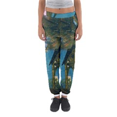 Background Forest Trees Nature Women s Jogger Sweatpants