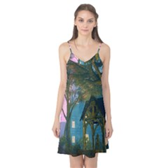 Background Forest Trees Nature Camis Nightgown