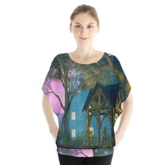 Background Forest Trees Nature Blouse