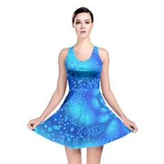 Bokeh Background Light Reflections Reversible Skater Dress