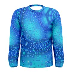 Bokeh Background Light Reflections Men s Long Sleeve Tee