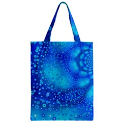 Bokeh Background Light Reflections Zipper Classic Tote Bag
