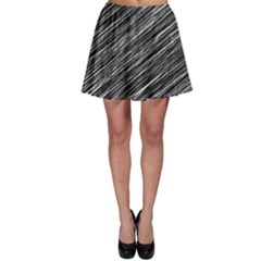Background Structure Pattern Skater Skirt