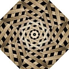 Texture Wood Flooring Brown Macro Hook Handle Umbrellas (small)