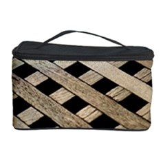 Texture Wood Flooring Brown Macro Cosmetic Storage Case