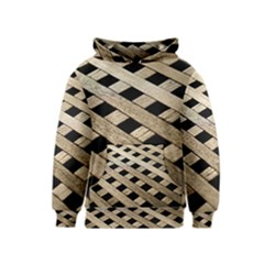 Texture Wood Flooring Brown Macro Kids  Pullover Hoodie