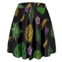 Tropical pattern High Waist Skirt View2