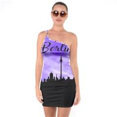 Berlin One Soulder Bodycon Dress