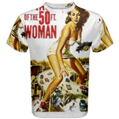 Attack Of The 50 Ft Woman Men s Cotton Tee