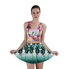 Tropical Sunset Mini Skirt