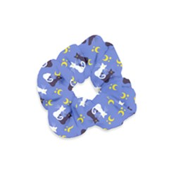 Moon Kitties Velvet Scrunchie