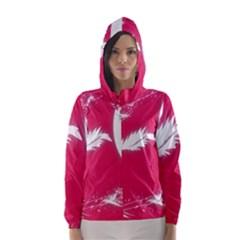 Hintergrund Tapete Texture Hooded Wind Breaker (women)
