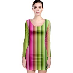 Vertical Blinds A Completely Seamless Tile Able Background Long Sleeve Bodycon Dress