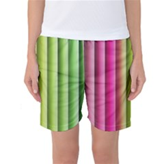 Vertical Blinds A Completely Seamless Tile Able Background Women s Basketball Shorts