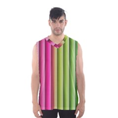 Vertical Blinds A Completely Seamless Tile Able Background Men s Basketball Tank Top