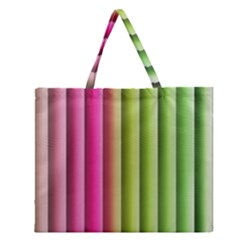 Vertical Blinds A Completely Seamless Tile Able Background Zipper Large Tote Bag