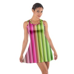 Vertical Blinds A Completely Seamless Tile Able Background Cotton Racerback Dress