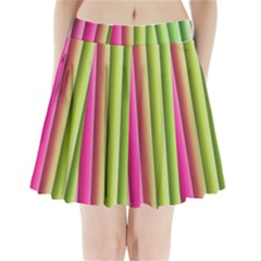 Vertical Blinds A Completely Seamless Tile Able Background Pleated Mini Skirt