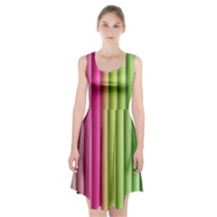 Vertical Blinds A Completely Seamless Tile Able Background Racerback Midi Dress
